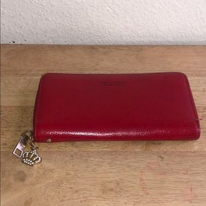 Wallet Forever Young Red Color Pre-Owned